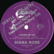 Diana Ross ORIG OZ A Label Promo 45 Pieces of ice NM '83 Capitol R&B Soul