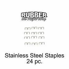 1930 - 1960 Buick Stainless Staples For Dust Shields Window Felts & MORE 24 pc