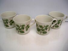 4  ROYAL ALBERT CUPS   ''ROSE ARBOUR'' COUNTRY GARDEN