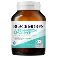 Blackmores Lutein-Vision Advanced 60 Capsules Maintain Healthy Vision Eye Health
