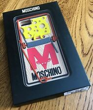 MOSCHINO CHEESE MOUSE TRAP FITTED SILICONE IPHONE 6/6s/7 CASE BNIB RETAIL £55