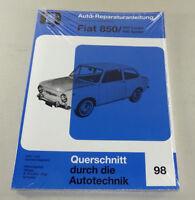Reparaturanleitung / Handbuch  Fiat 850 - 850 Coupe / 850 Spider