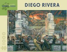 Pomegranate Jigsaw - Detroit Industry by Diego Rivera (1000 pieces)