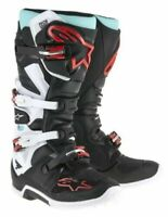 NEW ALPINESTARS TECH 7 MOTOCROSS BOOTS BLACK TURQUOISE WHITE RED OFF ROAD CHEAP