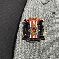 2020 NEW UK WW Remember Day Enamel Pin Lest We Forget Veteran Lapel Badge Brooch
