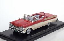 MERCURY TURNPIKE CRUISER 1957 CONVERTIBLE RED WHITE NEO 45877 1/43 RESINE USA