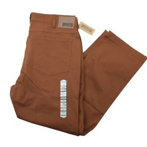Duluth Trading Men's 38x32 Orange NWT Flex Fire Hose Relaxed Fit Pants