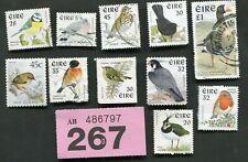 Set  stamps  of   Ireland. Birds