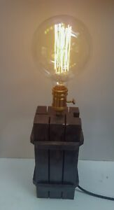 Vintage Handmade Table Bedside Unique Decorative Lamp Suits Lamp Shade brass fit