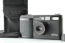 【Exc+++++w/Case】Ricoh GR1V Black Point & Shoot Film Camera From JAPAN #422