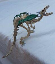 Plastoy Skeleton Dragon Green Wings used