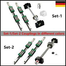 SFU1605/1204/2005 Kugelumlaufspindel +HGR15/20 Linearführung Linear Rail Set CNC