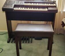 Yamaha Electone El-7 Organ With Stool- Slightly Used.