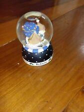 "1999 Michel & Company Mary Engelbreit Miniature 2-1/2"" Believe Snowglobe"