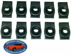 NOSR Chrysler Dodge Plymouth Body Fender Frame 5/16-18 Bolts U Clips J Nuts 10 H
