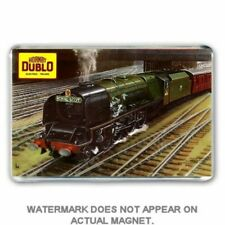 HORNBY DUBLO - ELECTRIC TRAINS 1958 CATALOGUE ART JUMBO FRIDGE /LOCKER MAGNET