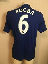 MANCHESTER UNITED  FOOTBALL SHIRT RED DEVILS ENGLAND SOCCER POGBOOM #6 POGBA