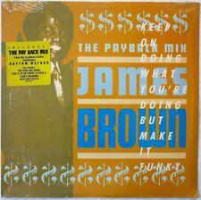 "THE PAYBACK MIX James Brown 1988 UK 12"" Polydor 887 852-1 club mixes SEALED"