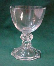"Val St Lambert YALE (PLAIN) Port Wine Stem (3-3/4"") More Items Available"