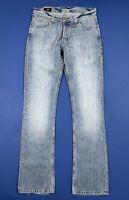 Lee roscoe W31 L36 tg 45 jeans uomo usato bootcut flared a zampa boyfriend T5597