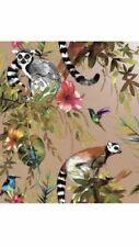 Lemur Rose Gold 12404 Novelty Animal Wallpaper