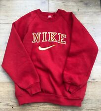 Red Nike Spell Out Sweatshirt VERY RARE