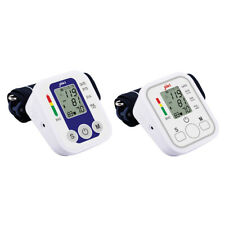 Digital Upper Arm Blood Pressure Monitor Heart Beat Portable Home, Office, Car