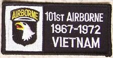 Embroidered Military Patch Vietnam Tour 101st Airborne badge NEW