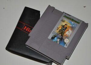 Metal Gear Solid 2 SNAKE'S Revenge Nes Nintendo Cartridge Hideo Kojima 1987