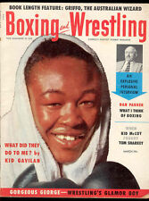 Boxing and Wrestling Vintage Magazine March 1955 Gorgeous George Kid Galivan