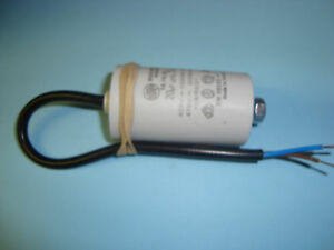 20uF Motor Run Capacitor 450V, Twin Cable