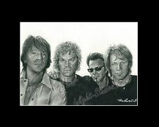 Bon Jovi rock band drawing  from artist art imege picture