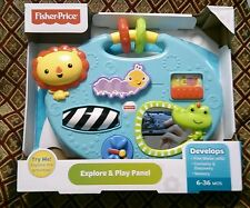 Fisher-Price Explore & Play Panel Developmental Therapy Infant Toddler New