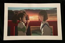 Studio Ghibli Spirited Away Art Print Lithograph Miyazaki Nm