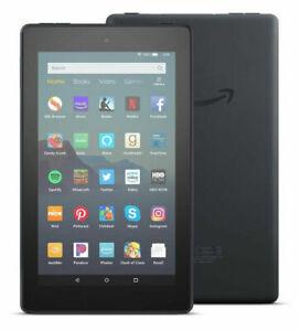 NEW Amazon Fire 7 (9th Generation) 16GB Wi-Fi, 7in - Black (With Alexa)
