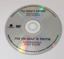 My Sister's Keeper - DVD Disc Only - Replacement Disc