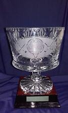 Zawiercie Crystal Bowl and Base golf award/prize 27cm