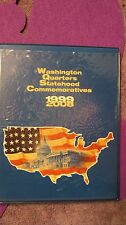 WASHINGTON QUARTERS STATEHOOD COMMEMORATIVES 1999-2008 IN BINDER