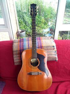 Eko Ranger 6 Gold Label Italian Vintage Jumbo Guitar