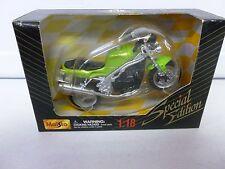 Maisto Triumph Motorcycle Green 1:18