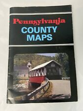 Pennsylvania County Maps Atlas by County Map Book by C.J. Puetz