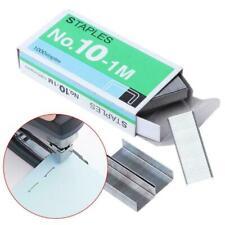 1000pcs SIZE NO 10 Staples Box For Desktop Stapler Metal Normal Staples B8J Y7H9