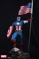 XM Studios CAPTAIN AMERICA 1/4 Statue BRAND NEW WITH COIN FREE SHIPPING! RARE!!