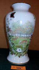 Vintage Franklin Mint Peter Barrett Autumn Glen Porcelain Vase Nice