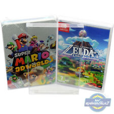 Switch Game Box Protectors for Nintendo STRONGEST 0.5mm Plastic Display Case