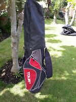 Dunlop Tour TP13 6-- Way Divider Lite Carry Golf Bag with strap and rain hood