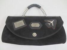 Bag Alessandrini by Jago 70-80er? Handbag Black Airplane Vintage /51
