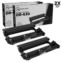 LD Compatible Brother DR-630 DR630 2pk Drum For Brother Printers