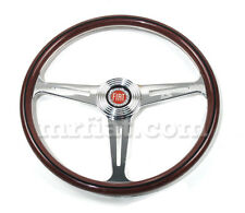 Fiat 850 Coupe Spider 1100 D R  Wood Steering Wheel 390 mm New