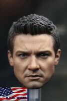 1/6 Jeremy Renner Hawkeye Head Sculpt 3.0 For Avengers For Hot Toys Figure ❶USA❶
